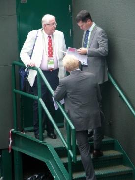 La Espalda de Boris Becker
