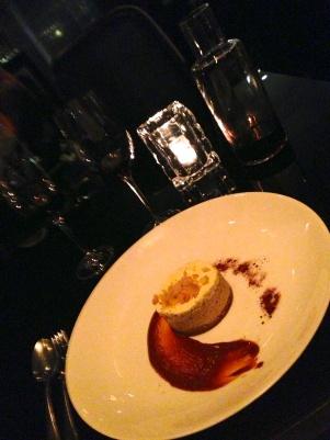 Salted Dulce de Leche y Macadamia Chessecake