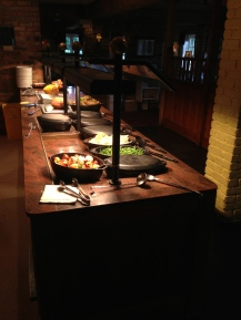 Buffet en The Copperfield