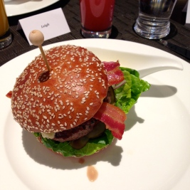 Cumbrian Beef Burger, Char Grilled