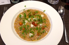 Risotto of Roast Butternut Squash and Red Wine Beenleigh Blue Cheese