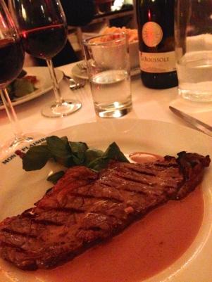 Steak Minute Grille sauce au Poivre, Pommes Allumettes