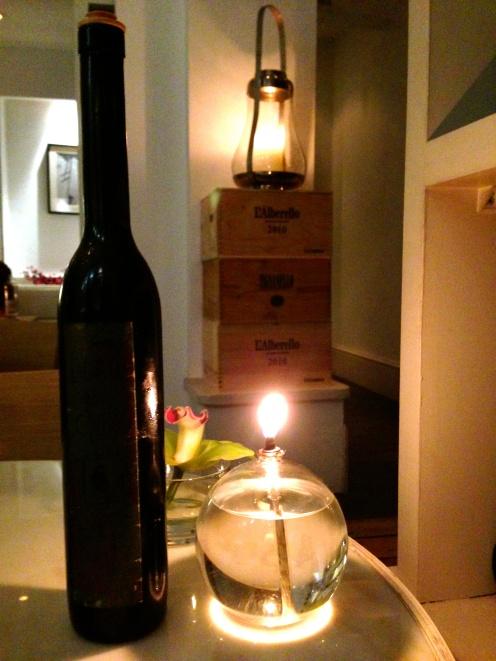 Me encantó esa vela…