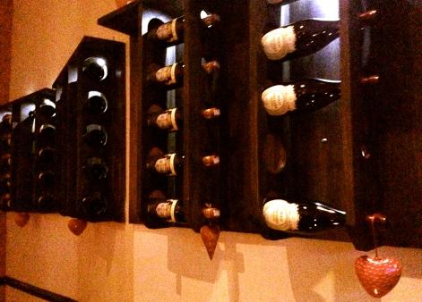 Algunas botellas...