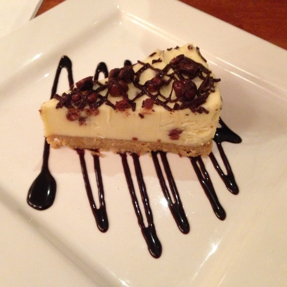 Honeycomb Smash Cheesecake