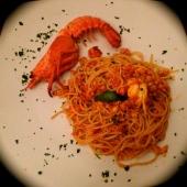 Spaghetti con Fresh Lobster