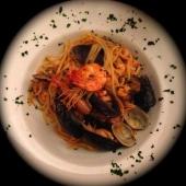 Linguini con Frutos de Mar