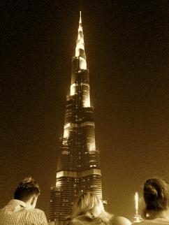 El Burj Khalifa no entra todo en una sola foto