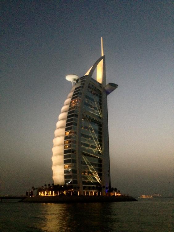 Burj Al Arab en su esplendor