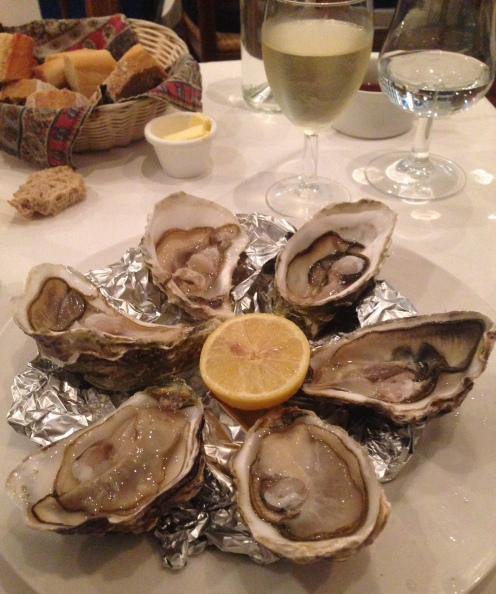 Las ostras de Chez Patrick