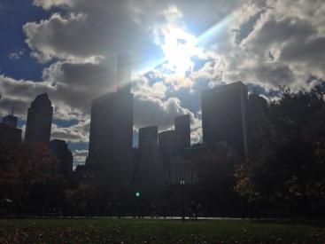 El Sol y el Central Park