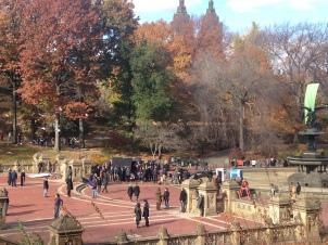 Un día cualquiera en el Central Park