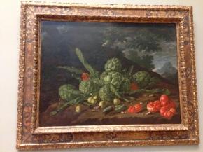 Alcauciles y Tomates por Luis Egidio Meléndez
