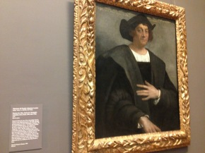 Un retrato de quién habría sido Cristobal Colón - Sebastiano del Piombo