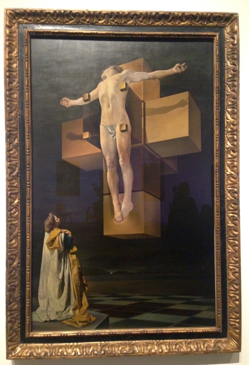 Crucifixión de Salvador Dalí, 1954