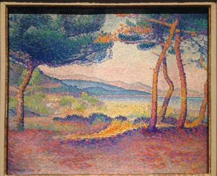 Uno de mis preferidos... Pones along the shore de Henri-Edmond Cross, 1896