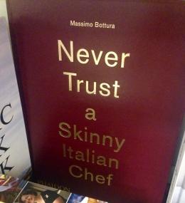 Nunca confíe un cocinero italiano delgado
