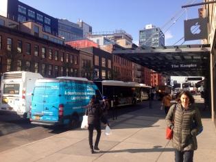 Dejando el Chelsea Market atrás