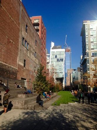 Dentro del High Line