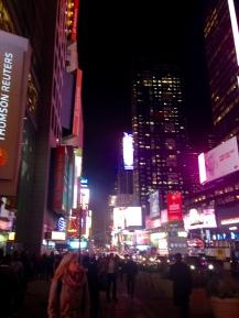 Times Square en todo su esplendor
