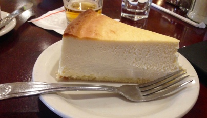 OUR FAMOUS NO. 1 ORIGINAL CHEESECAKE
