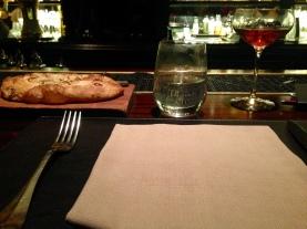 Servicio de mesa y Manhattan