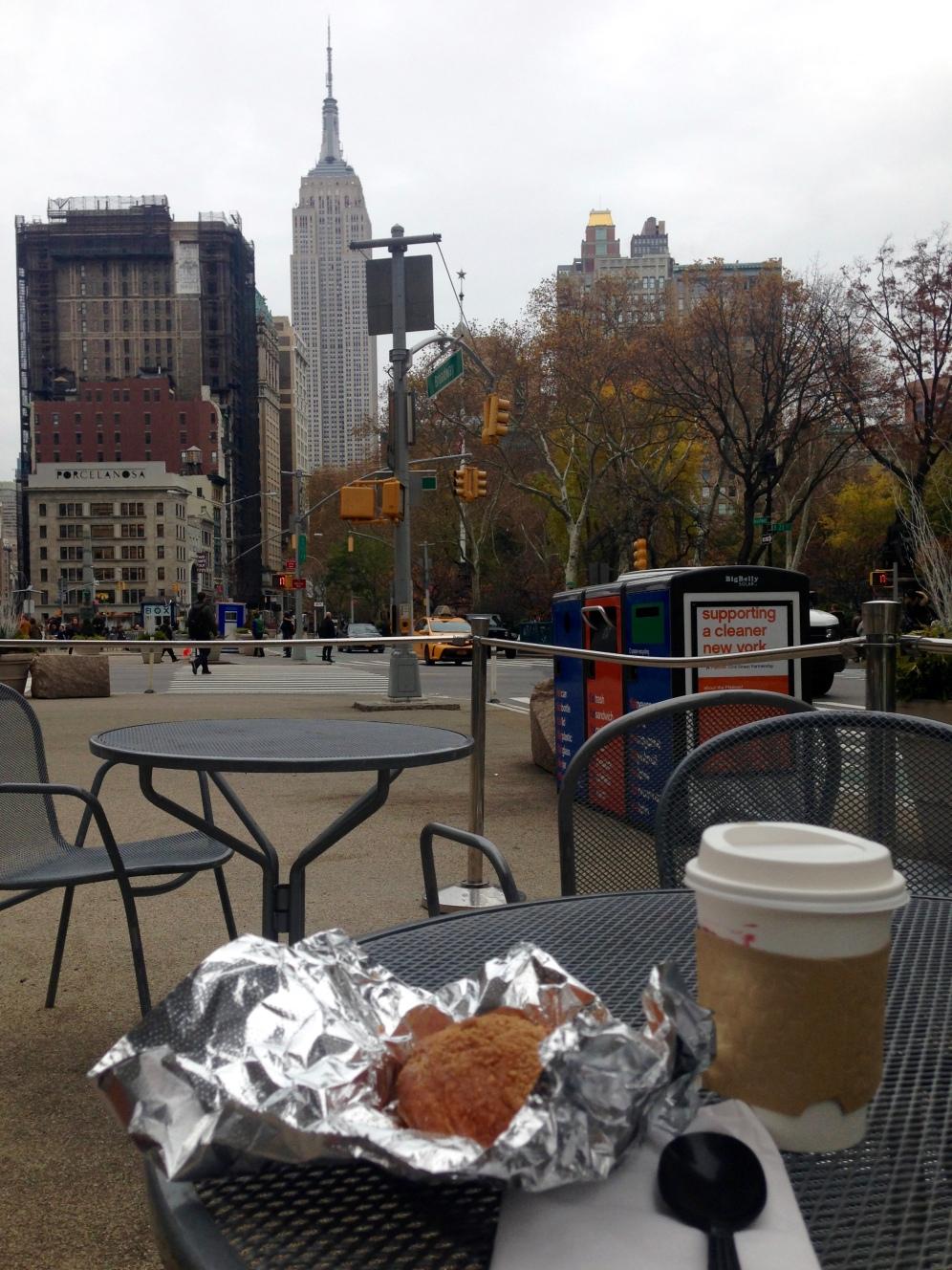 Café con una vista