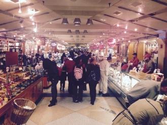 Dentro del Grand Central Market
