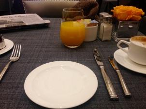 Mi último desayuno en New York