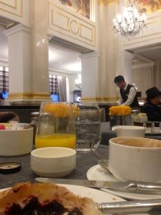 Desayunando con glamour