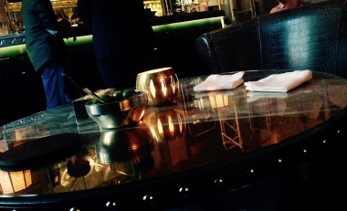 Mi mesa y olivas